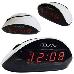 COSMO Réveil numérique - blanc