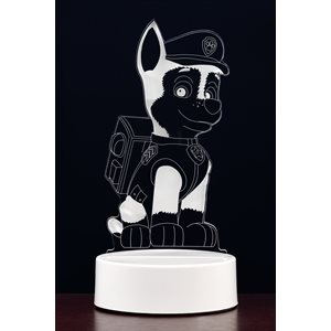 Chase 3D acrylic night light