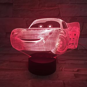 Car 3D acrylic night light