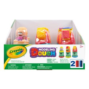 Crayola dough in one roll - display 24 pieces