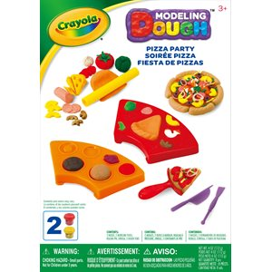 Crayola pizza party