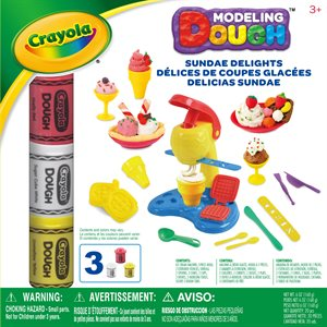 Crayola sundae delights