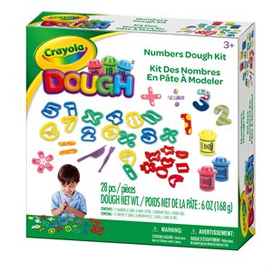 Crayola dough numbers set
