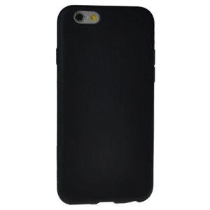 Étui en silicone pour iPhone 6; noir