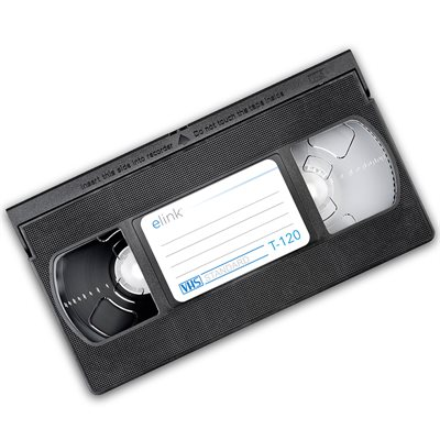 Cassette VHS (120 minutes)
