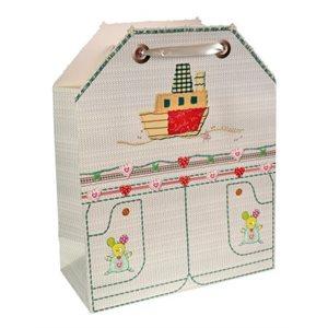 Sac cadeau Juvénile avec découpage ; Grand ; 26x32.4x12.7cm