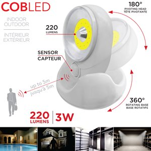 RCA Motion activated COB Light
