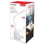 Touch lamp 4W,60 LM wireless speaker-white