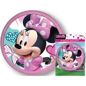 MINNIE MOUSE LED COLOR CHANGING PUSH LIGHT